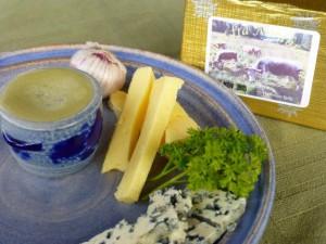 Blått smør fra Nordbrenna. Foto Arne Nohr