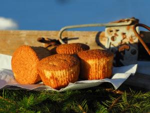 Honningmuffins. Foto Arne Nohr